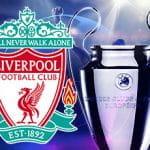 UCL Trophy and Liverpool badge