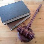 A judge's hammer