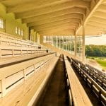Horse racing stand