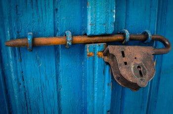 closed door picture