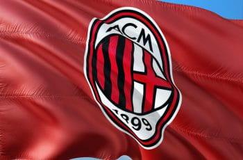 AC Milan flag