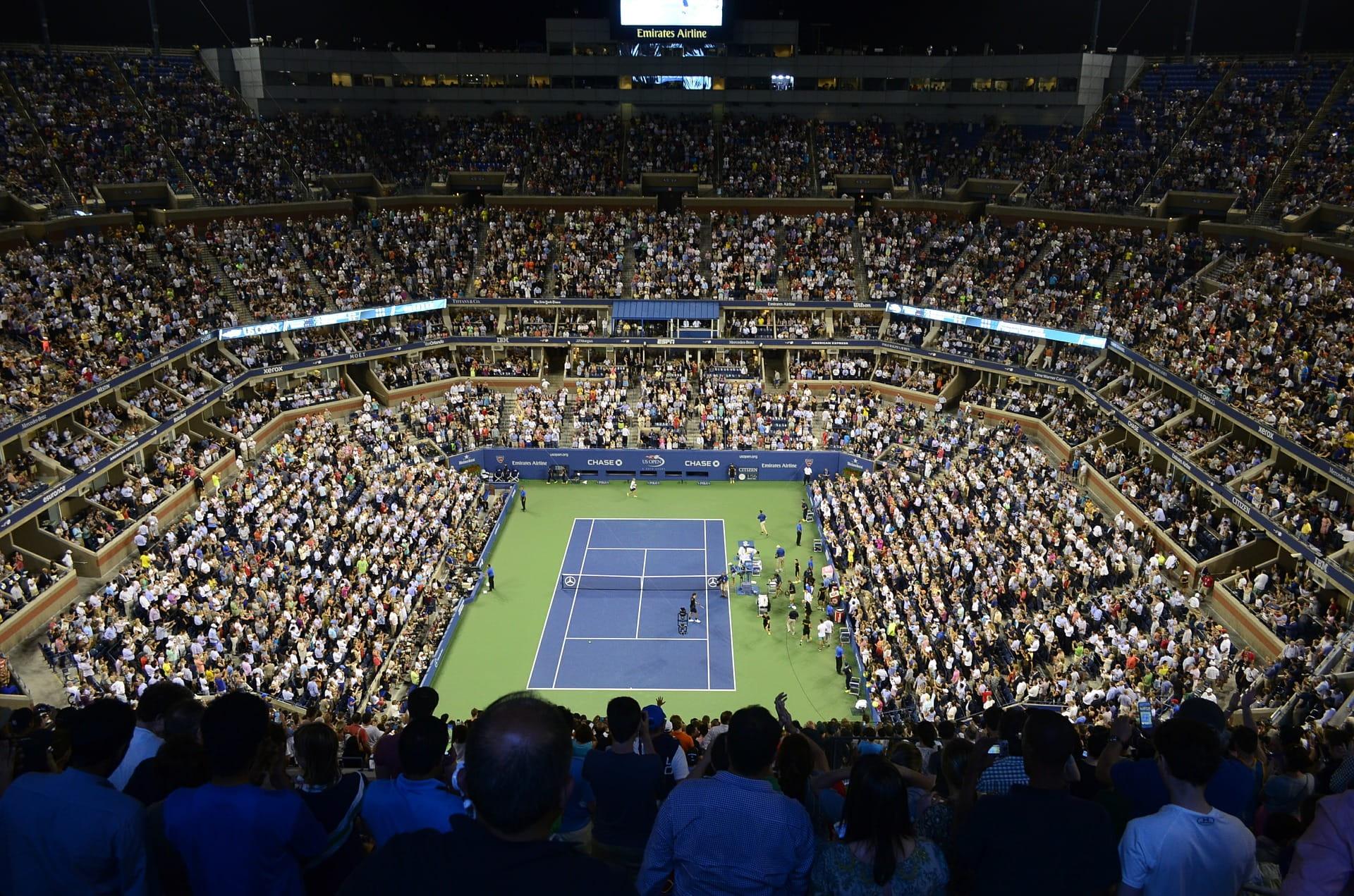 tennis court US Open